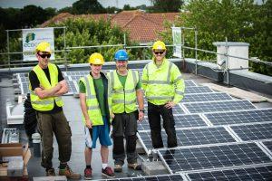 Coniston CC solar installation