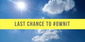 Last chance to ownit