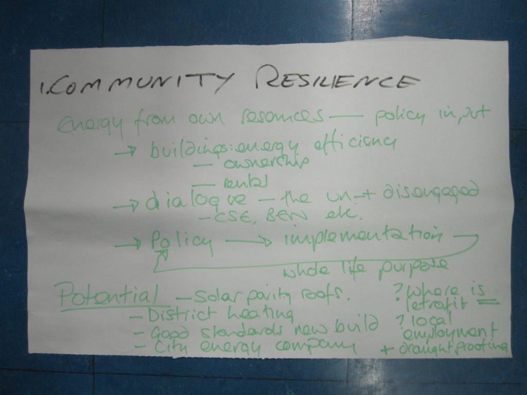 1 community resilience